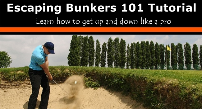 how to play bunker shots golf tutorial
