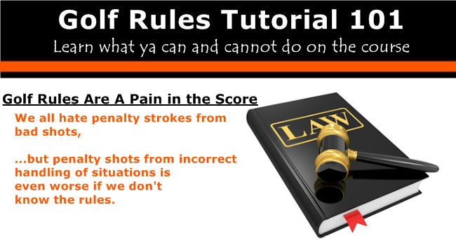 golf rules 101