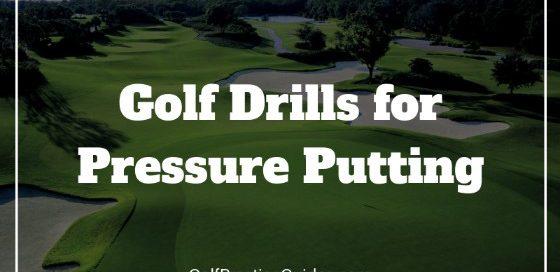 pressure putting golf drills