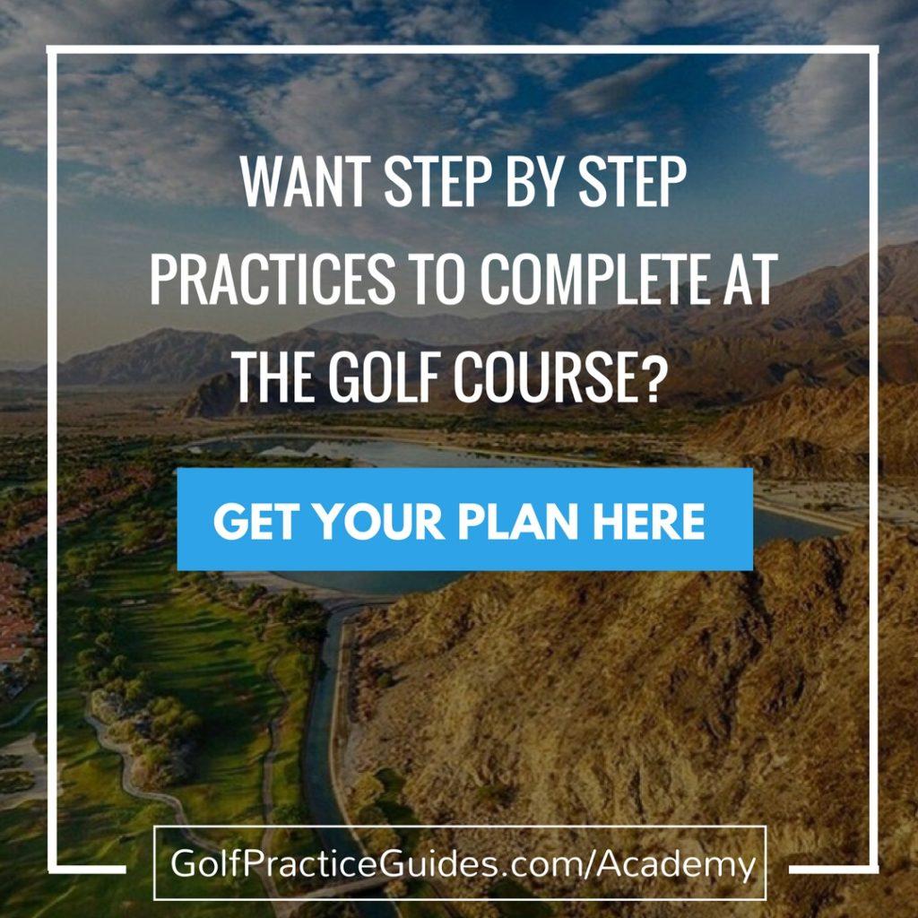 golf practice plans