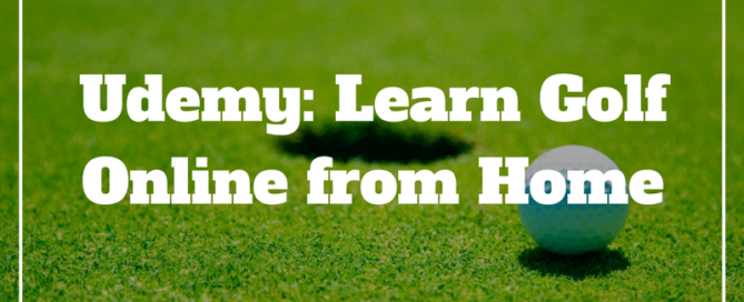 udemy golf lessons online
