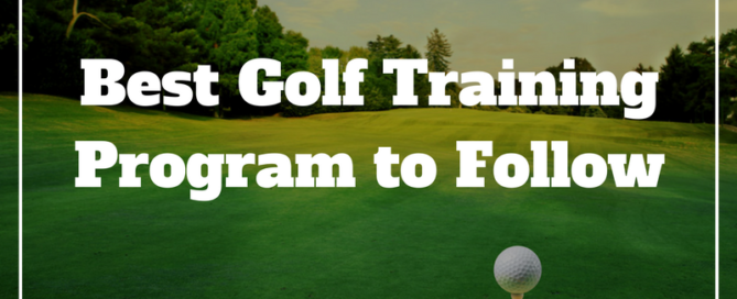 golf training program to break 80
