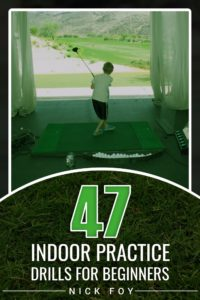 winter indoor golf drills