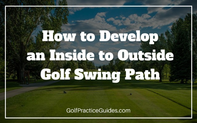 View Larger Image Inside To Out Golf Swing Path