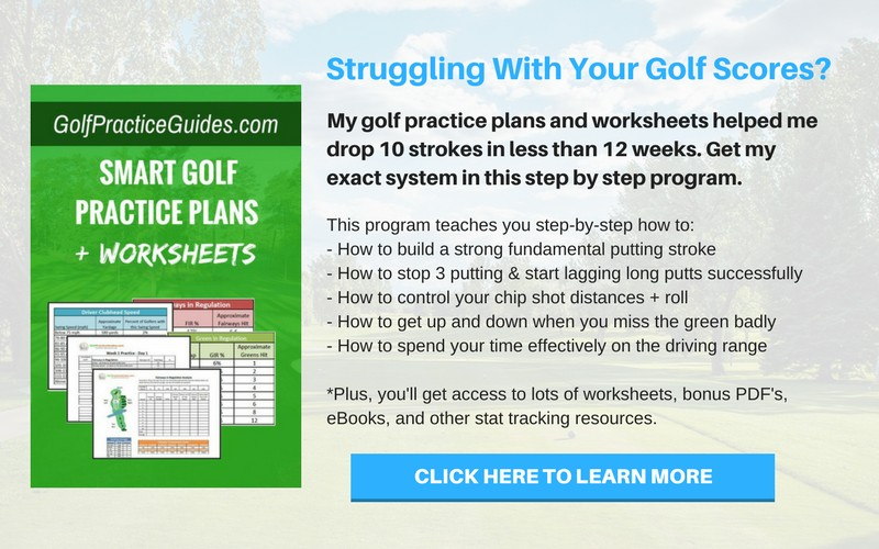 best golf practice routine plan to follow
