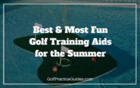 golf training aids diy home