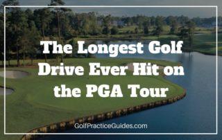 longest golf drive hit on pga tour swing speed