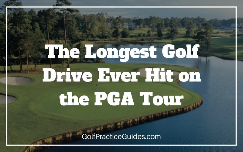longest golf drive hit on pga tour swing speed