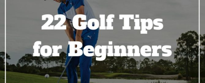 22 golf tips for beginners chipping putting