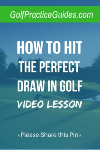 how to hit a draw in golf swing tips