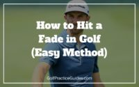 how to hit a fade in golf swing instruction tips