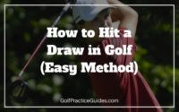 how to hit a draw in golf swing instruction tips