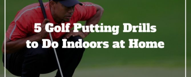 golf putting drills indoors winter at home