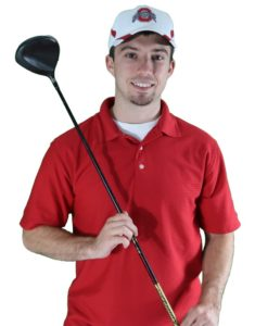 nick foy golf club white background