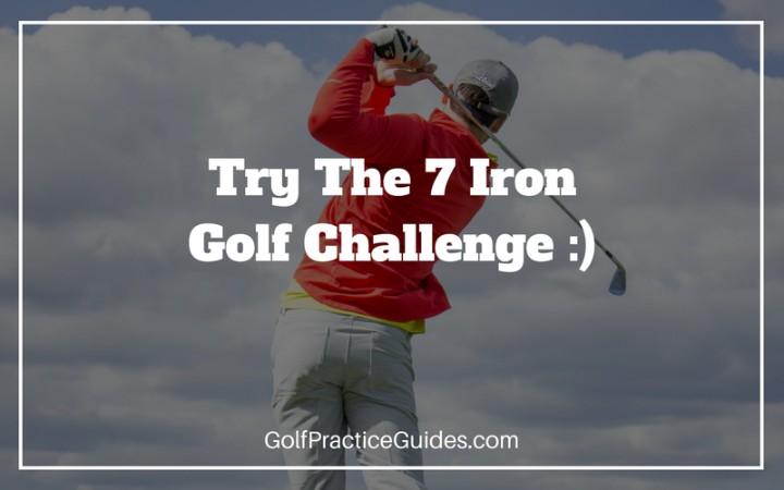 7 iron golf challenge