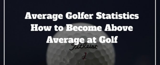 average golfer statistics
