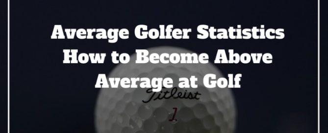 average golfer statistics