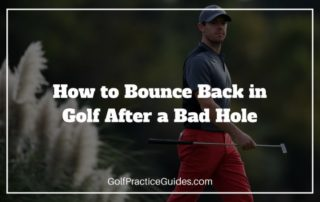 bounce back after bad hole in golf