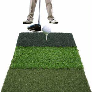 covasa turf golf hitting mat training aid