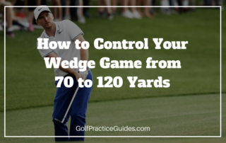 golf chipping short game wedge play