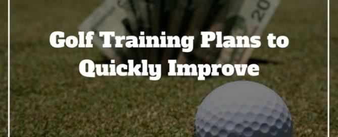 golf training plan