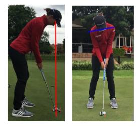 golf shoulder turn putting