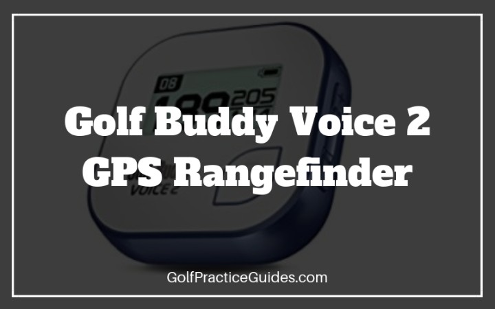 golf buddy voice 2 gps golf range finder
