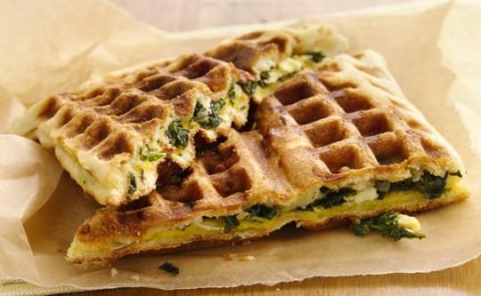 waffle omelette recipe