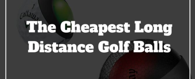 best cheapest golf balls for max distance