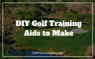 diy golf training aids indoor