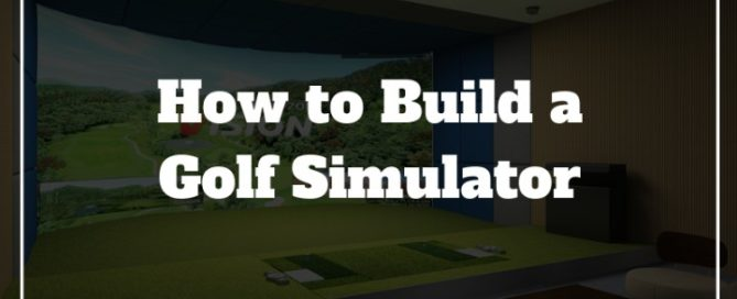 golf simulator home made diy