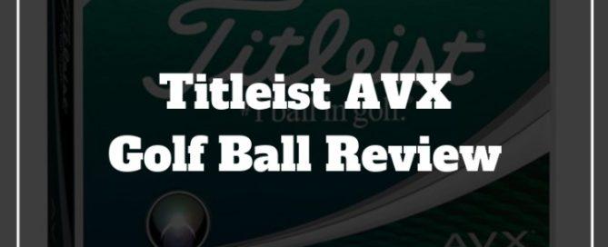 titleist avx golf ball review