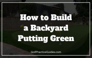 backyard putting green diy