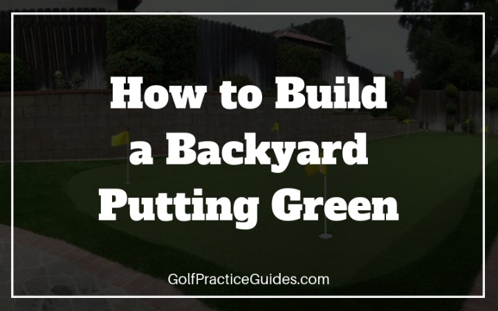backyard putting green diy