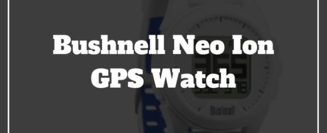 bushnell geo ion gps watch