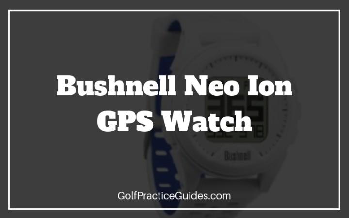 bushnell geo ion gps watch
