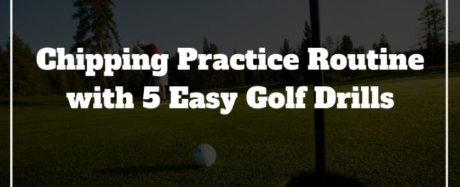 golf chipping practice routine
