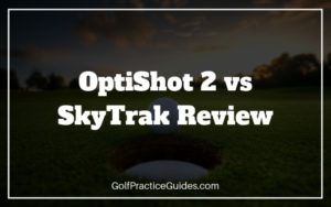 golf simulator skytrak vs optishot review