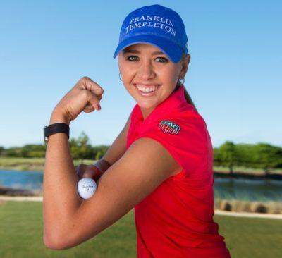 top female golfers