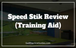 speed stik review golf