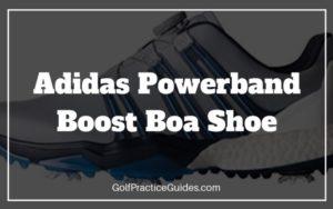 adidas powerband boost boa golf shoe