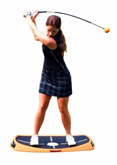 Orange Peel Balance Trainer Review - Golf Practice Guides