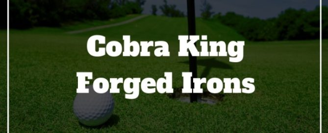 cobra king forged irons review
