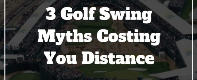 golf swing distance