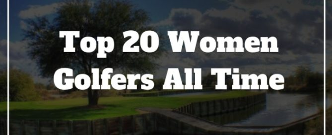 top women golfers all time