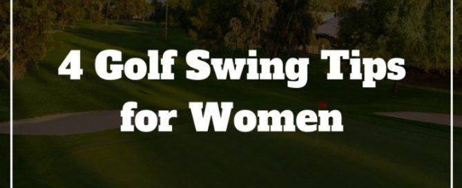women golf swing tips