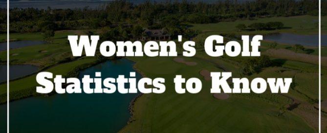 womens golf stats