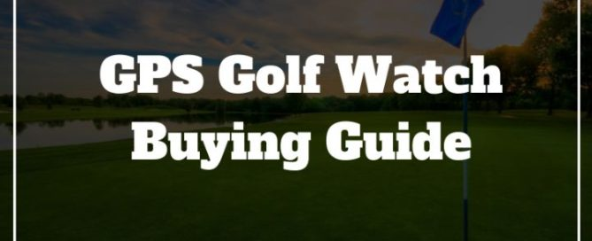 golf watch gps guide