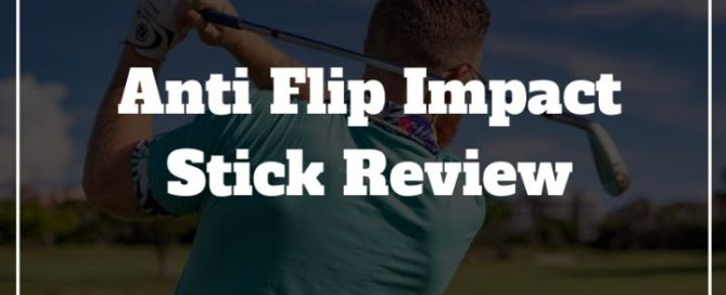 anti flip golf swing training aid