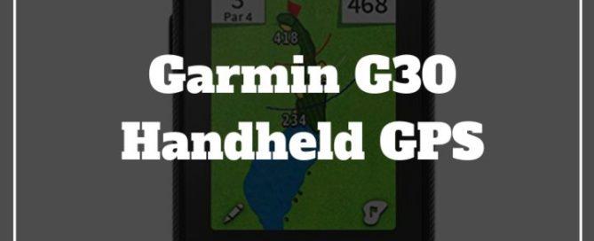 garmin g30 handheld gps